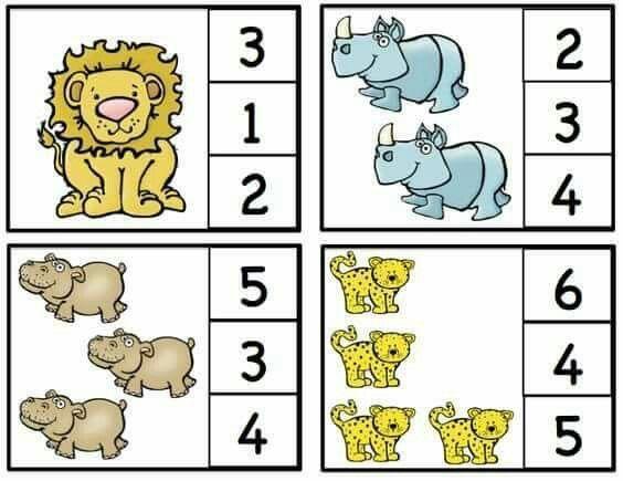 Zoo Math Worksheets 2