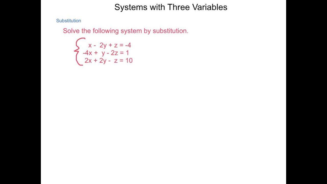 Algebra 2 Variables Worksheets 2