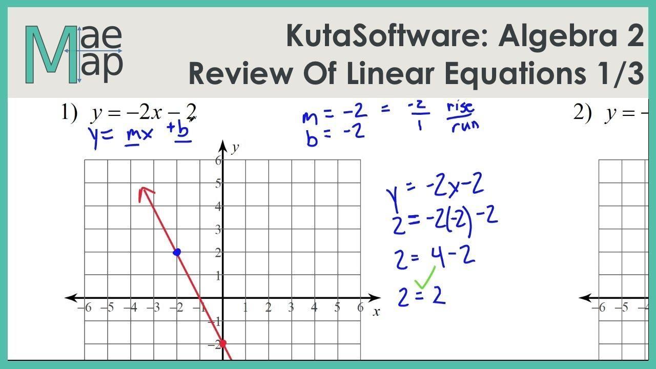 Algebra 2 Variables Worksheets 6