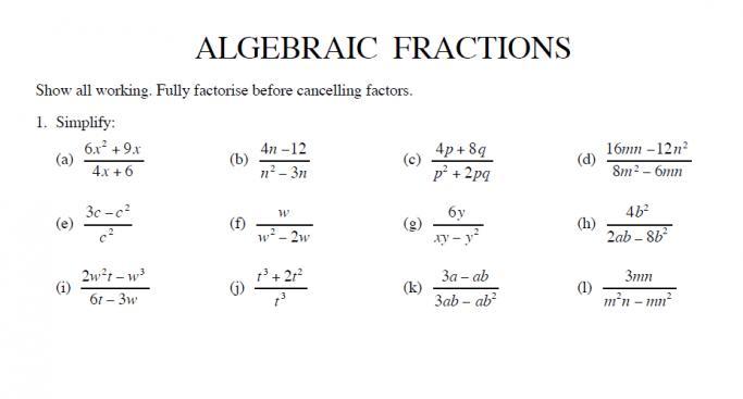 Algebra Dependent And Independent Variable Worksheets