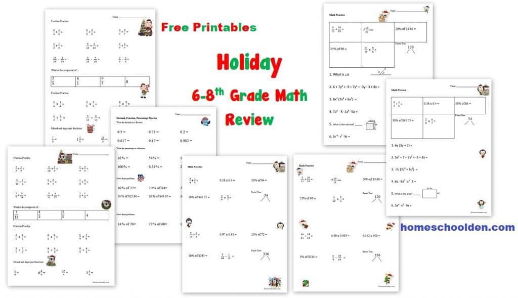 Algebra Homeschool Worksheets 2