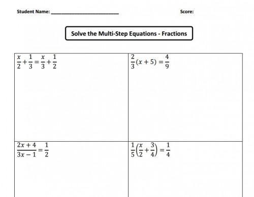 Algebra Worksheets Ks3 1