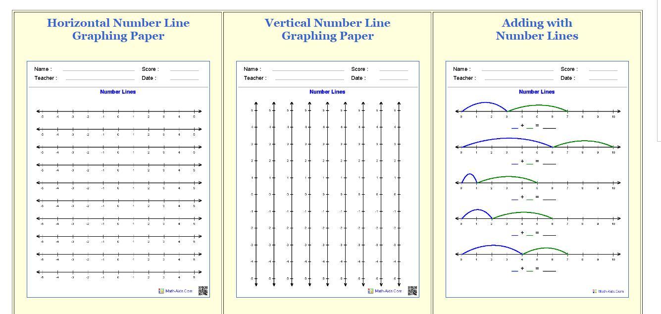 Algebra Worksheets Math Aids 5