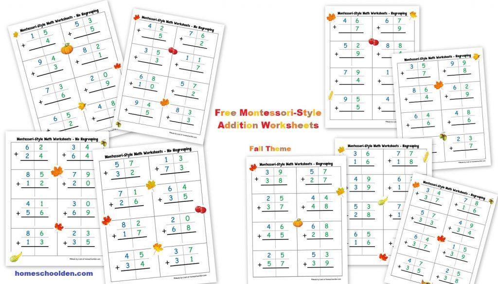 Homeschool Math Worksheets Algebra