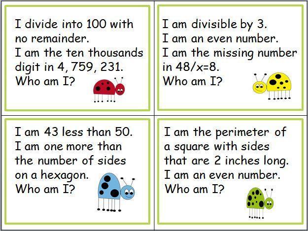 Pre Algebra Riddle Worksheets