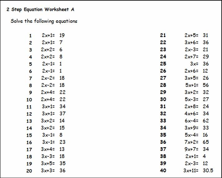 Year 10 Algebra Worksheets Nz 4