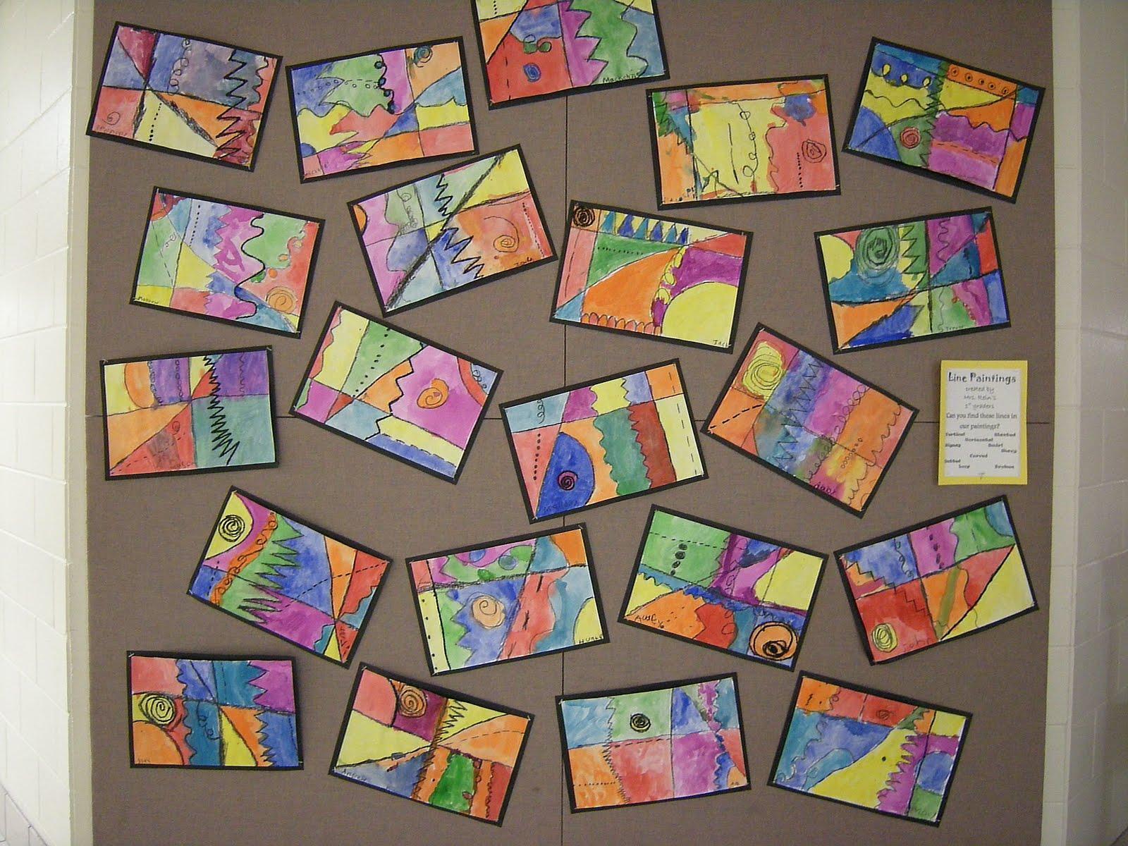 1st Grade Art Worksheets 2
