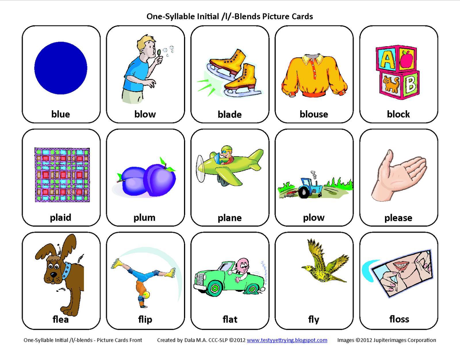 1st Grade Blends Worksheets 1