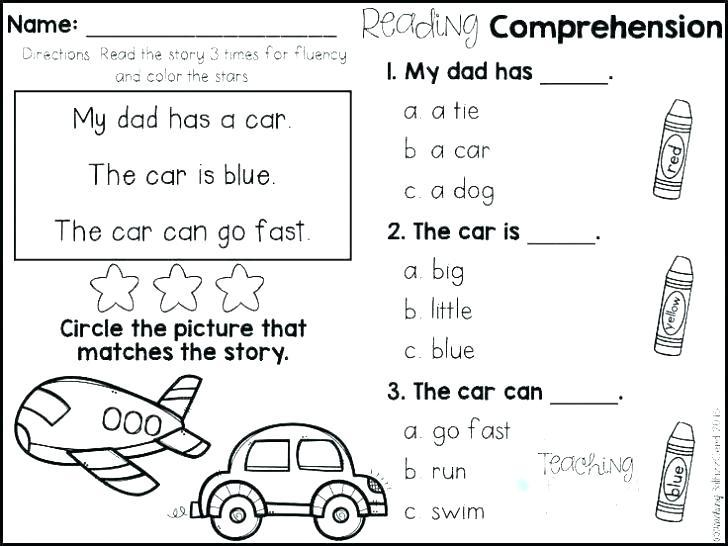 1st Grade Inference Worksheets 6