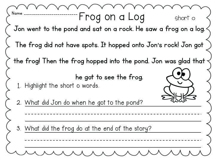 1st Grade Literacy Worksheets 1