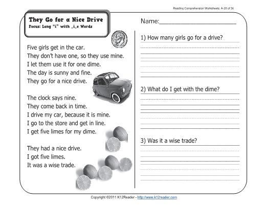 First Grade Ela Worksheets Pdf