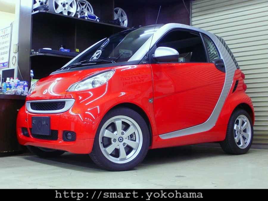 H23年 fortwo クーペ mhd passion
