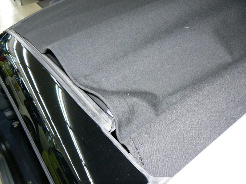 スマートロードスターの幌の取り扱い注意点