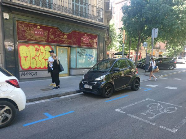 smart in Barcelona