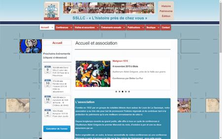 création de site web à blois association ssllc