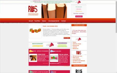 création site internet association piles Pont Audemer dans l'eure