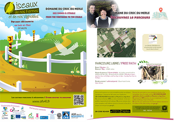 création de brochures