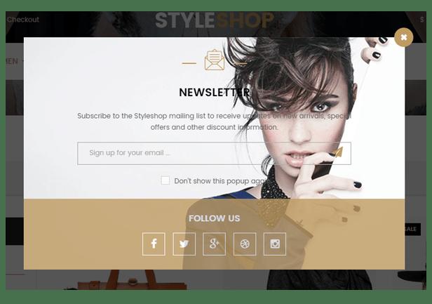 Styleshop - Newsletter