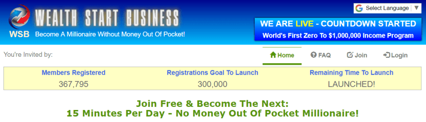 wealth start business review