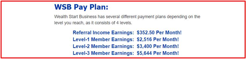wsb pay plan