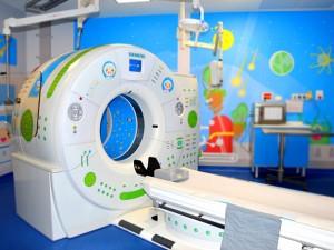Ospedale Bambin Gesù, la Tac a forma d'astronave per non spaventare i bimbi malati