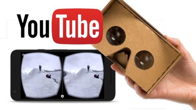 Youtube strizza l'occhio alla realtà virtuale