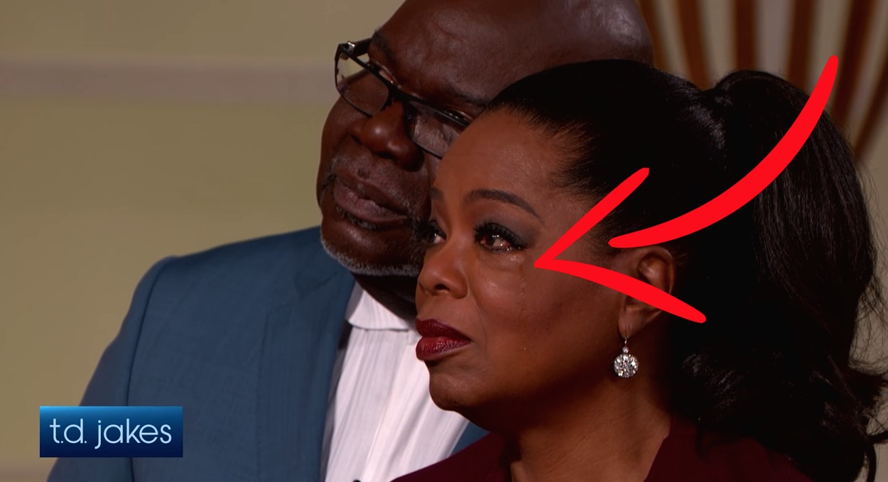 Td Jakes Makes Oprah Winfrey Cry By Expressing Kindness