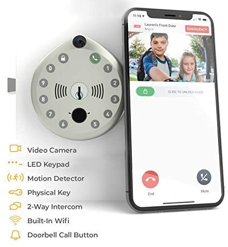 3 Best Smart Door Locks for your Home Security  with Face Recognition, Best Smart Locks For Home Security