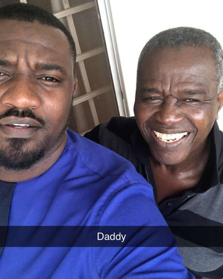 John Dumelo flaunts his Handsome Dad on social media