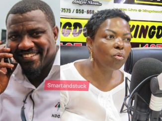 Ayawaso West Wuogon parliamentary aspirant, John Dumelo, has said, the incumbent MP will lose the seat even if she constructs the roads in the constituency with gold.