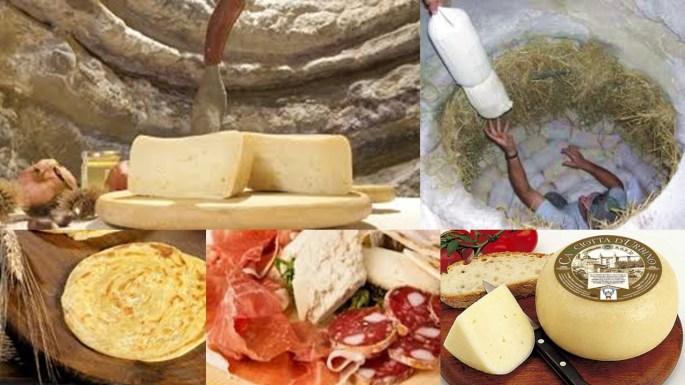 Prodotti formaggi salumi pu