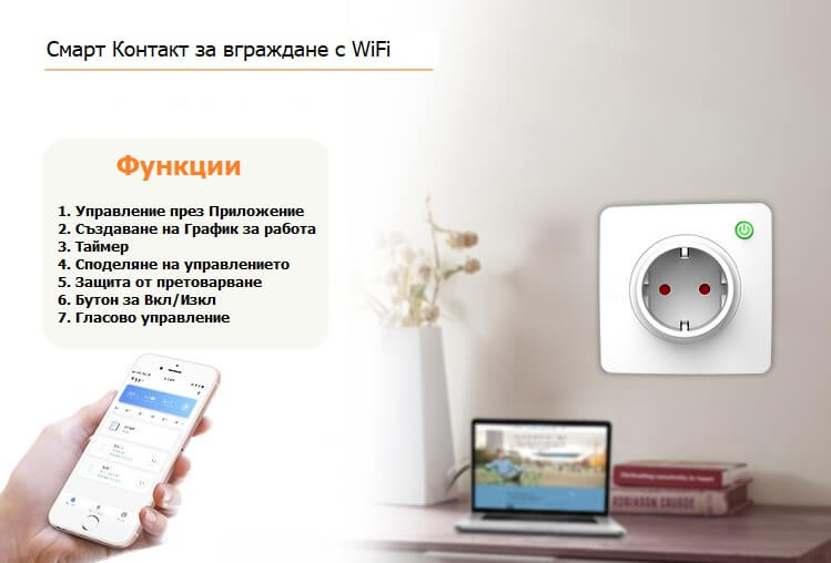 WiFi контакт приложение