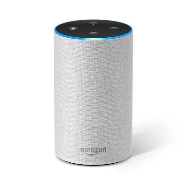 Amazon Alexa Echo 2 Gen Sandstone цвят бял