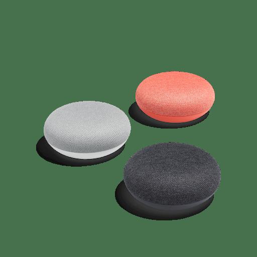 Гугъл хоум мини три цвята