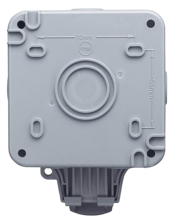 IP66 водоустойчива кутия за контак