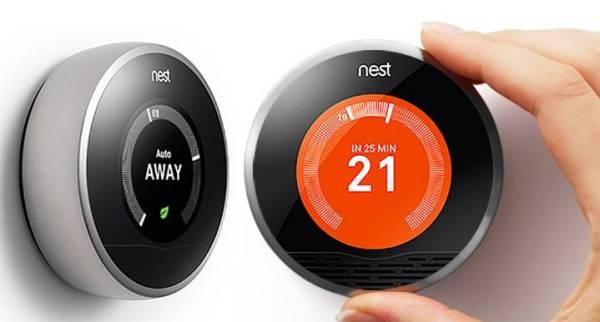 nest термостат инсталация