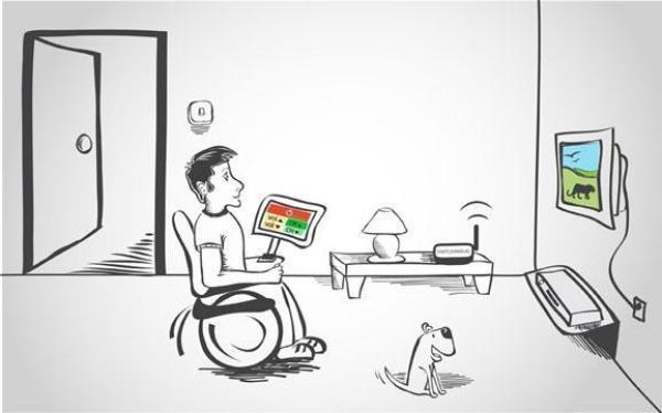 умен дом за хора с увреждания