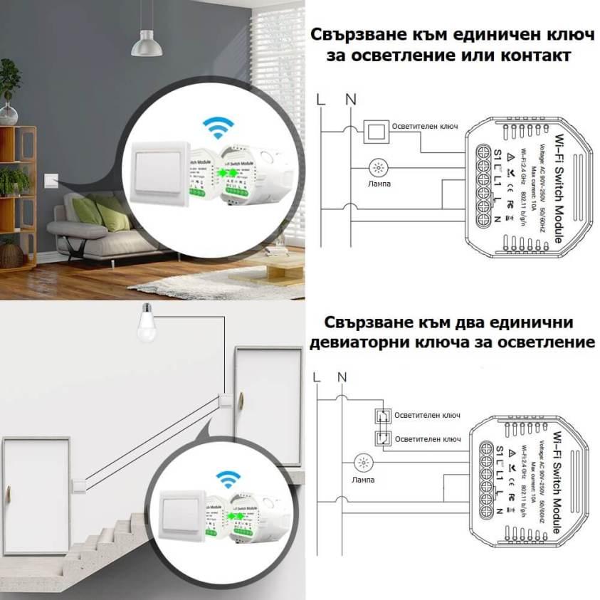 инсталация на WiFi модул единичен