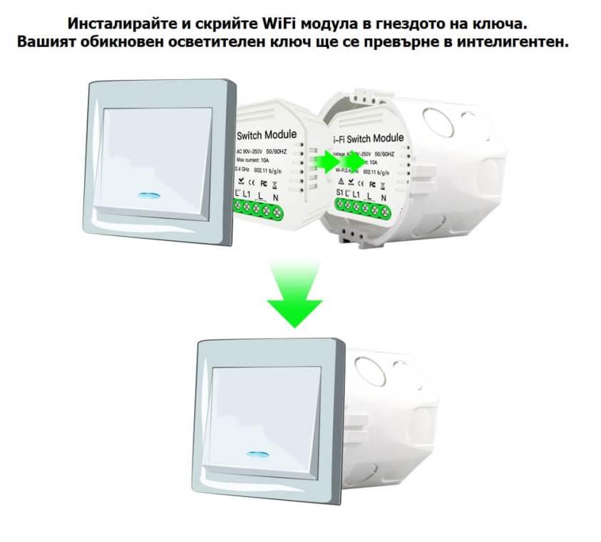 WiFi модул за смарт ключ
