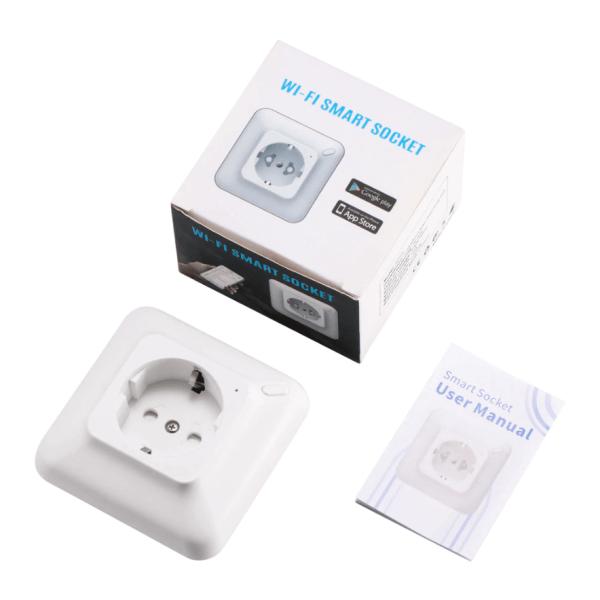 смарт контакт за вграждане комплект кутия