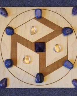 Crystal Grid Plate, Antahkarana