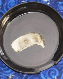 Smudge Bowl, Black Clay, Handmade