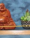 Incense Holder, Walnut Wood, Curve design