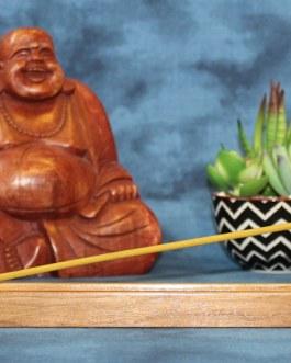 Incense Holder, Walnut Wood, Flat design
