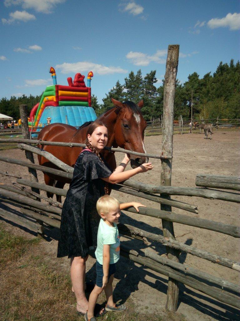 Ania z synem
