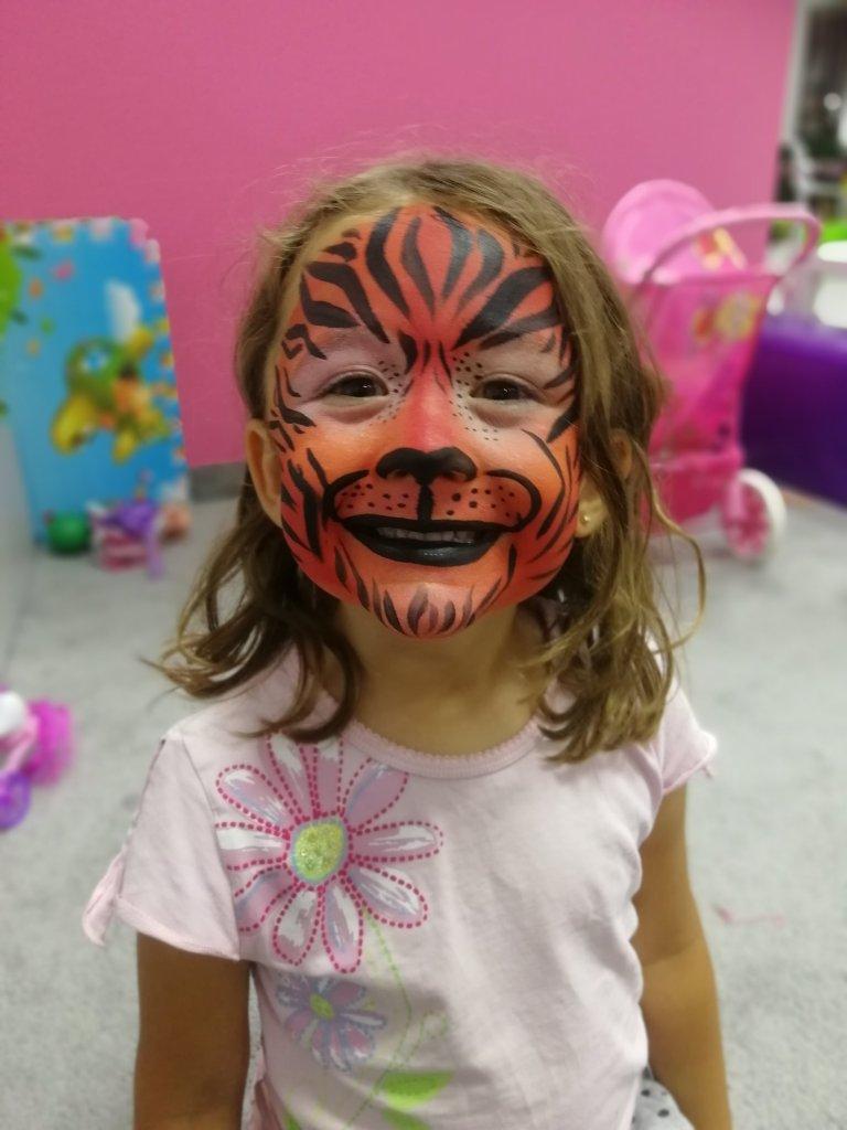 Takiego pięknego tygrysa wyprosiła Anielka u pani!