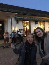 Robyn & Chloe ahead of our Bavarian night