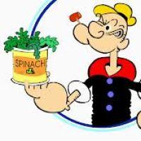 Crema de spanac-Popeye marinarul-pentru bebelusi puternici peste 7 luni