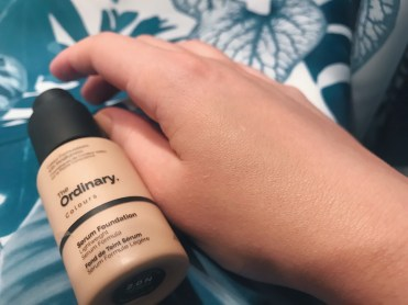 ordinary serum foundation тональный