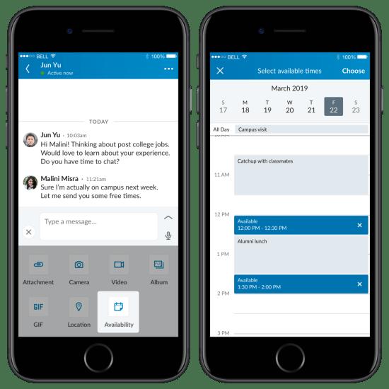 LinkedIn möte planering
